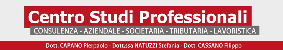 Centro Studi Professionali - Gioia del Colle - Commercialisti - Consulenti